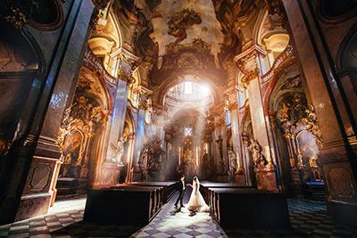 Место для свадебной церемонии в Праге