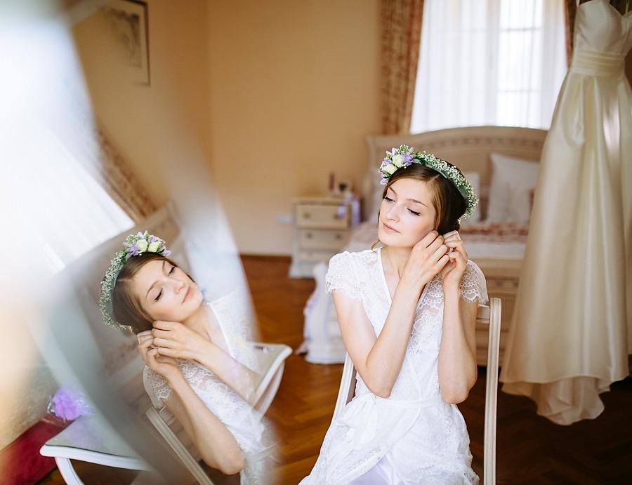 Серьги для невесты / Bridal earring