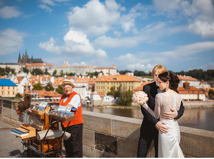 Свадебная фотосессия в Глубоке над Влтавоу