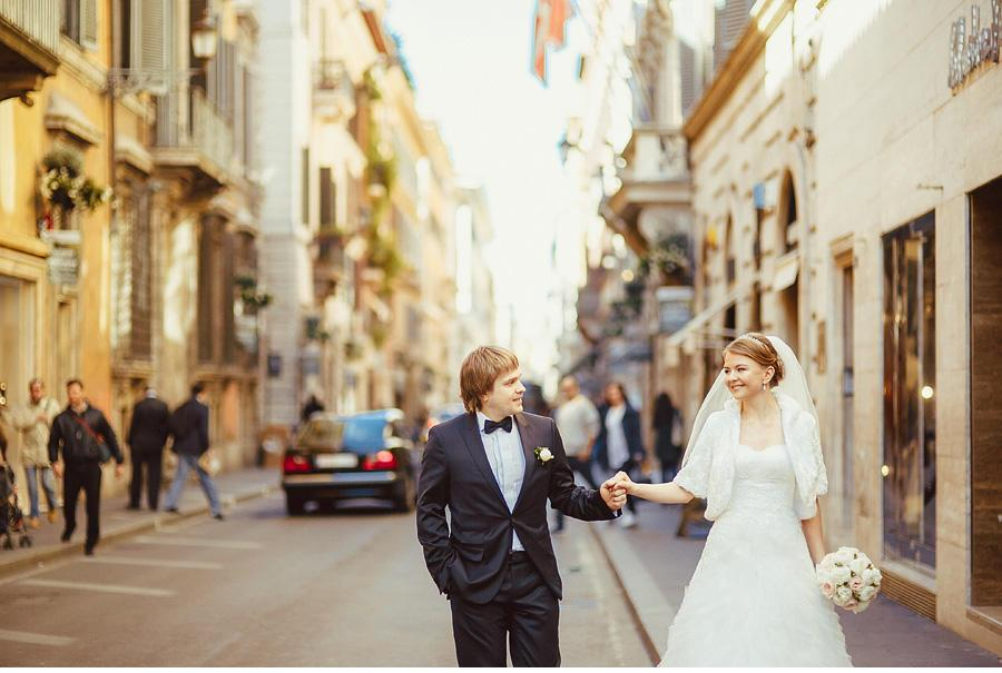 Pre-wedding Rome
