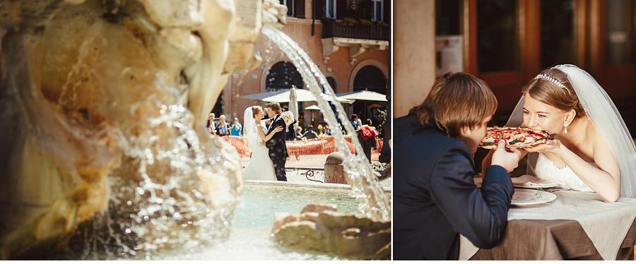 Фотографии свадьбы в Риме