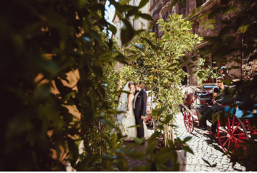 Wedding photoshoot in Rome
