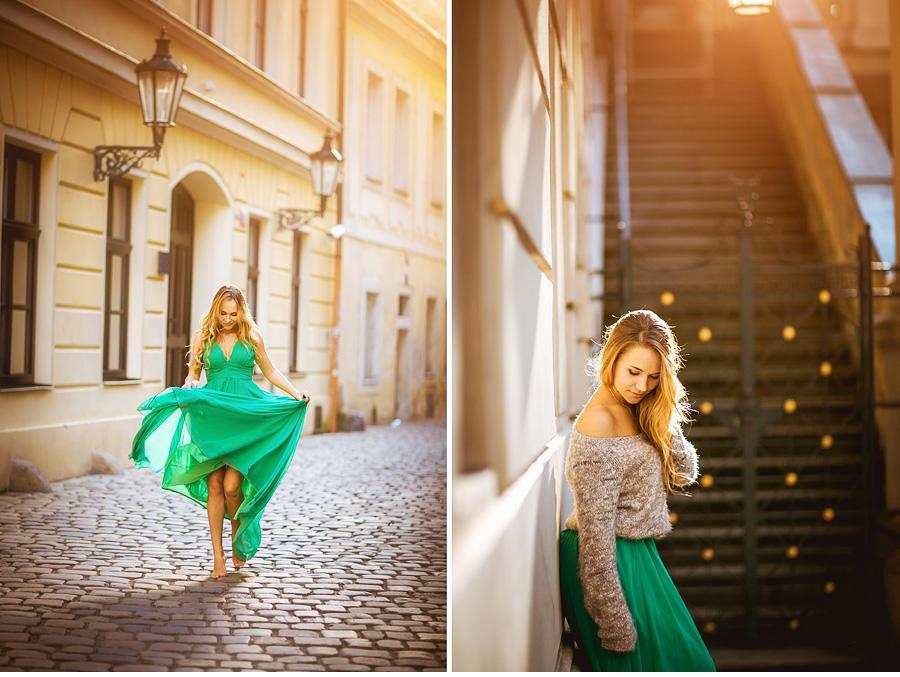 photo shoot in Prague