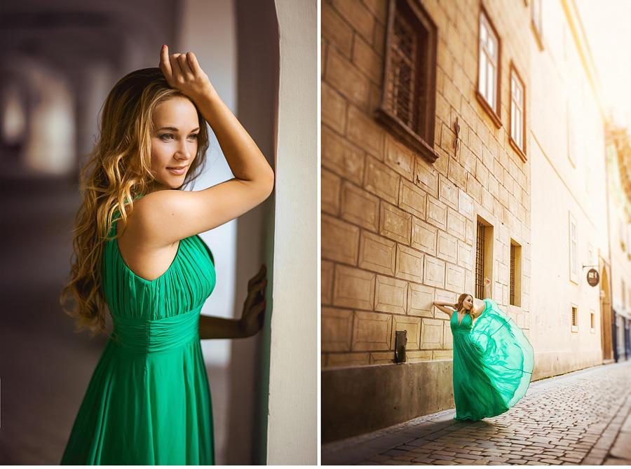 photo shoot in Prague