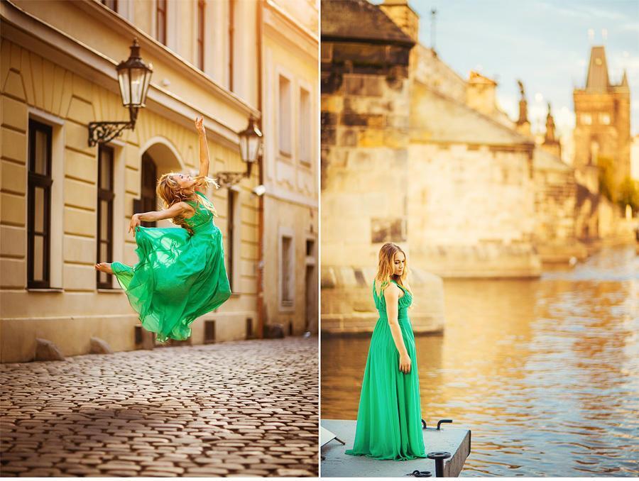 individual photo shoot in Prague