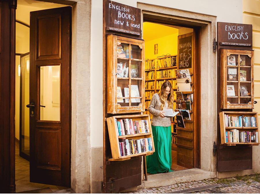 фотосессия для девушки в Праге