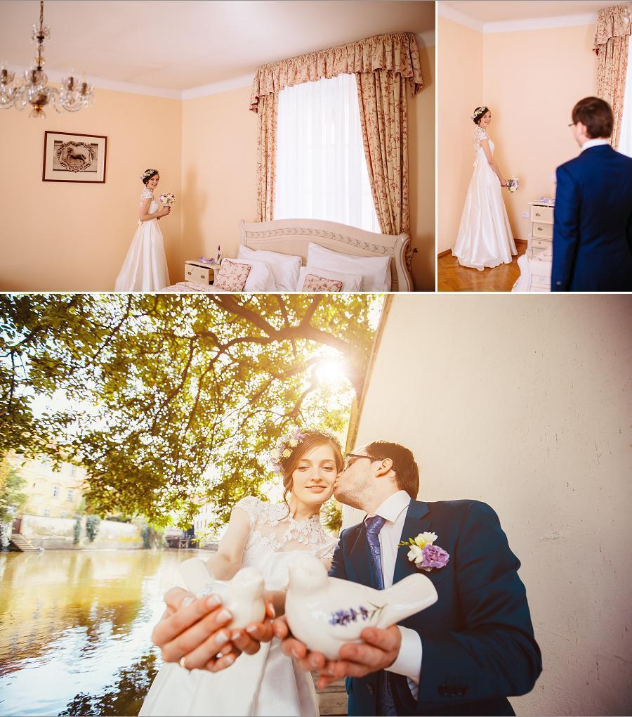 Встреча жениха и невесты / Bride and groom meeting