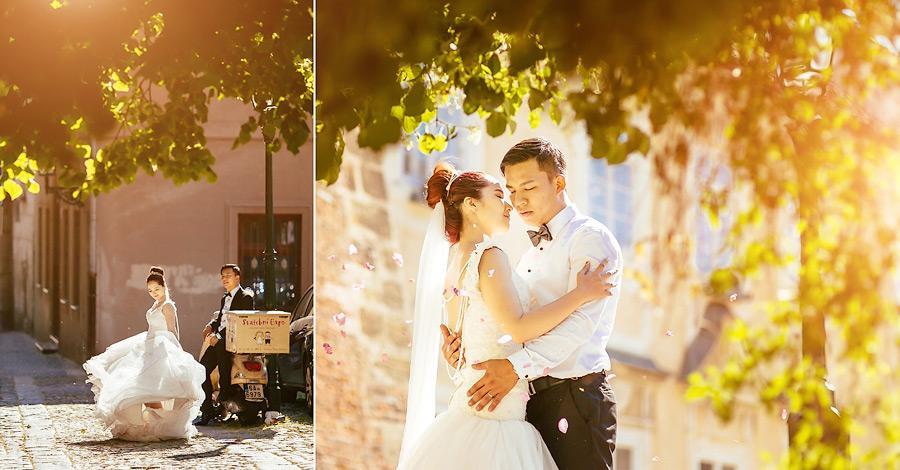 Медовый месяц в Праге