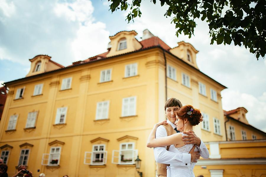 Свадьба в ратуше в Праге