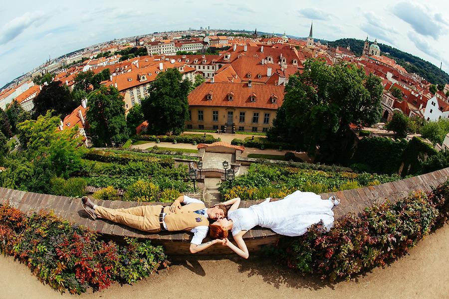 Свадьба в ратуше Прага