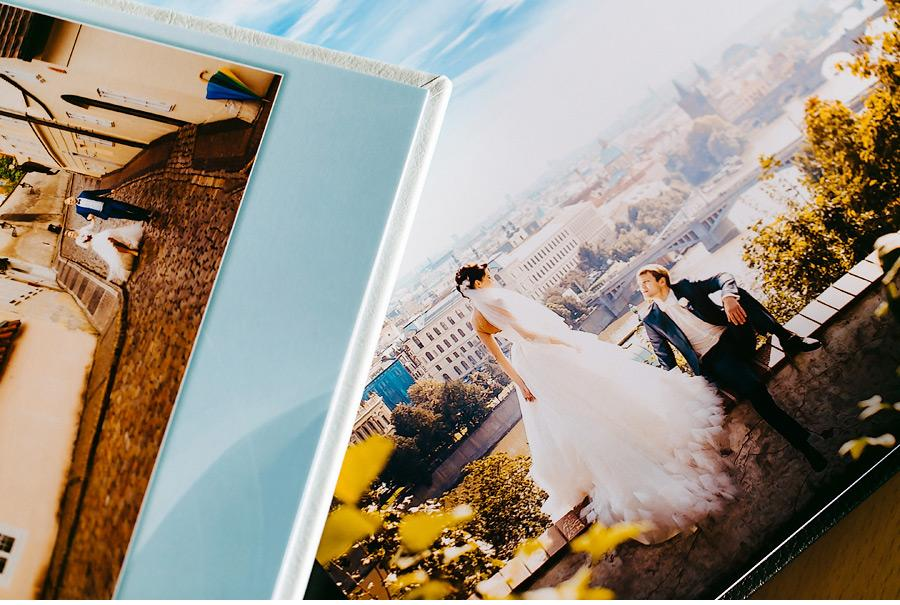 Wedding photo album sample