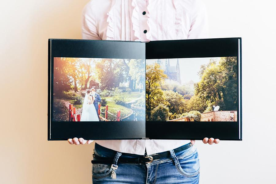 Wedding photo book design