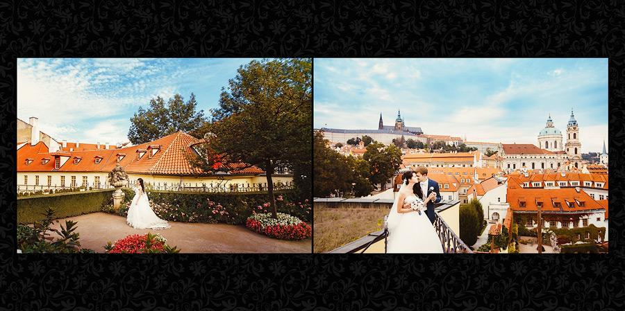 Wedding photo album layout