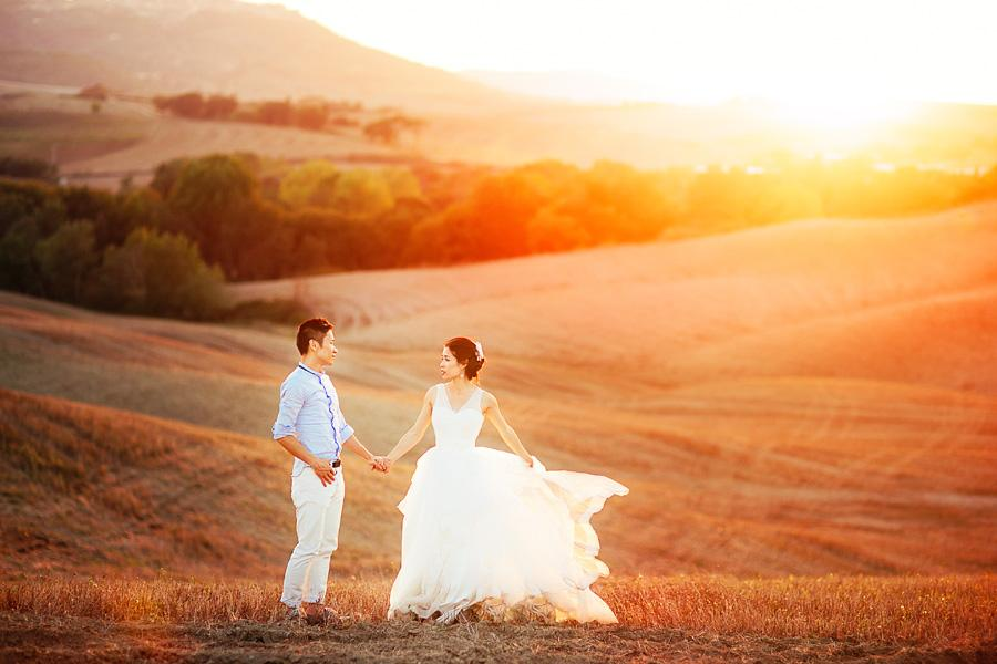 Pre-wedding in Tuscany