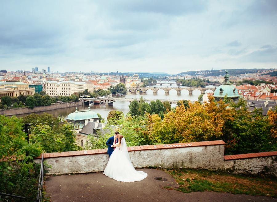 Wedding in Prague with guests