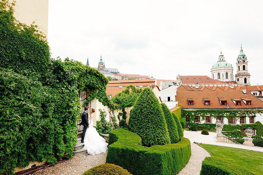 Свадьба в Вртбовском саду