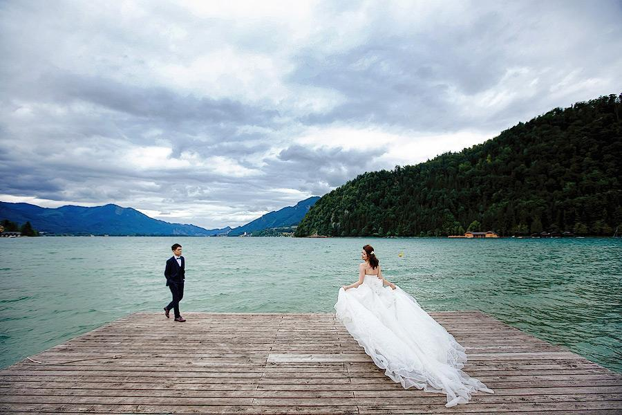 Wedding in the Alps