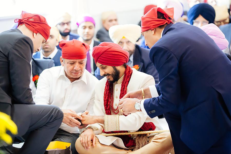 Sikh wedding photographer