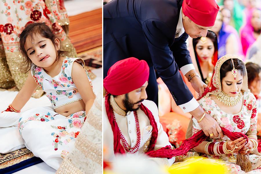 Indian wedding in England
